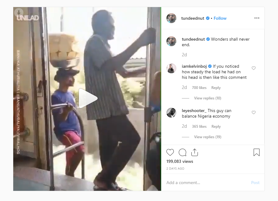 You Need To Watch This Amazing Indian Bread Hawker On A Fast Train