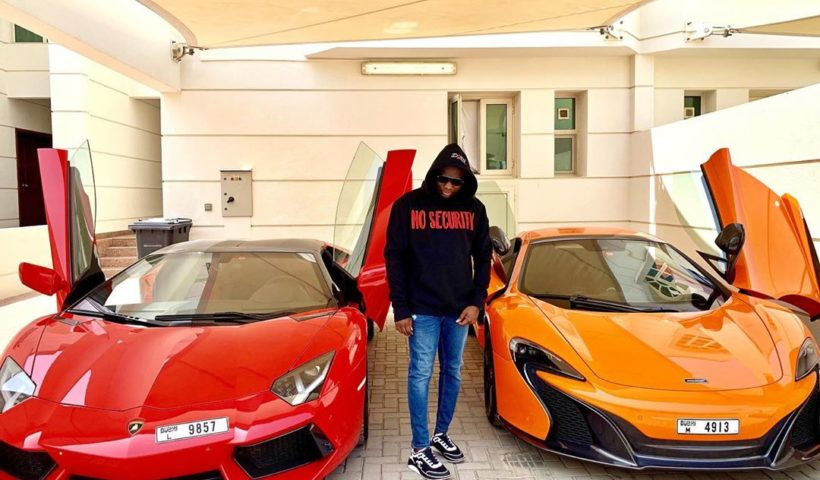 Dubai Based Mompha Shows Off His Lamborghini And McLaren In New Photo