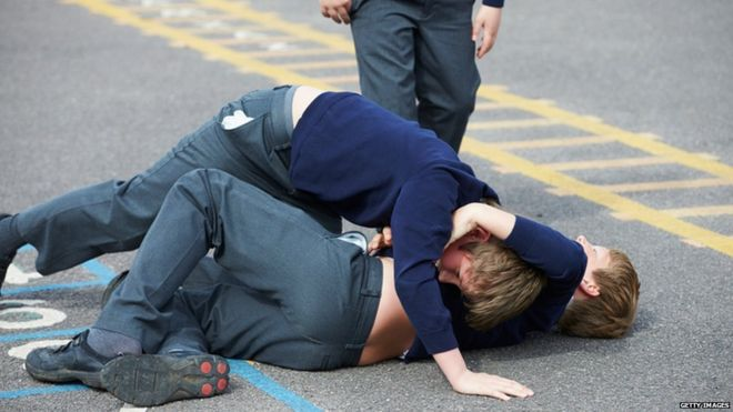 BombShell!! Birmingham School Pupils 'Act Like Gangsters' In New College Fight`