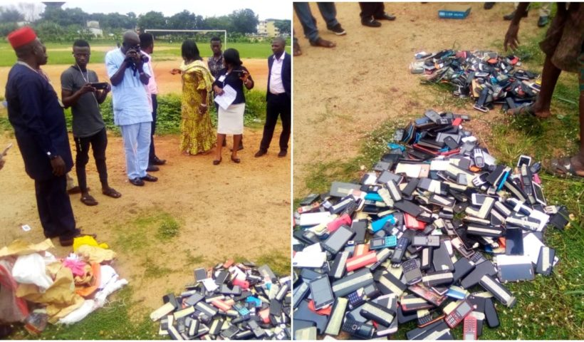 Bombshell: Ibadan Poly Burns Students Phones Worth Millions of Naira 😨😨😱- 1