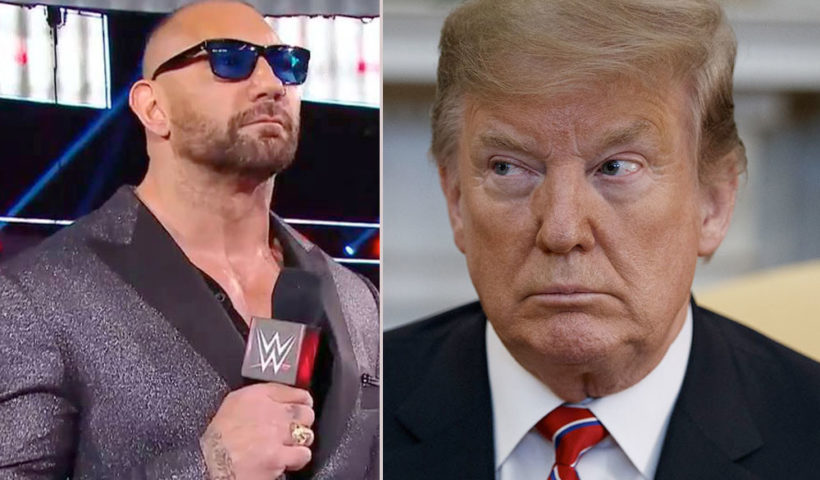 Dave Bautista Bullies Donald Trump On Twitter, Calls Him A Scumbag - Full Conversation