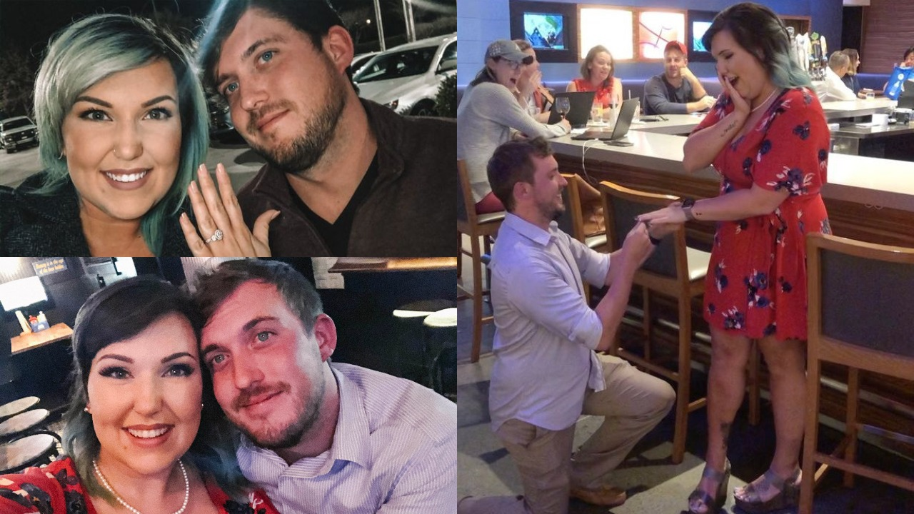 American Couple Fakes Engagement In Bars To Get Free Drinks From Strangers