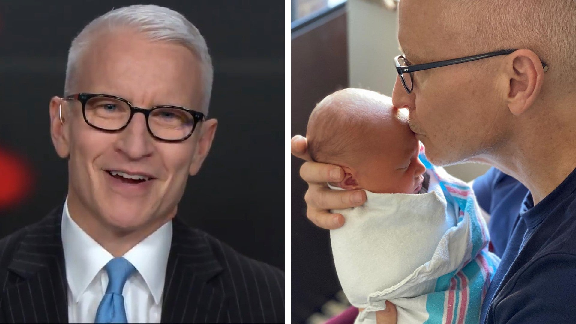 Anderson Cooper Instagram Announces Birth of His Son