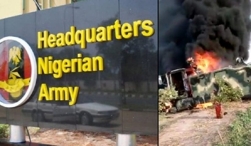 Armed Forces of Nigeria reacts to viral video of Soldiers cursing Buratai after Boko Haram ambush