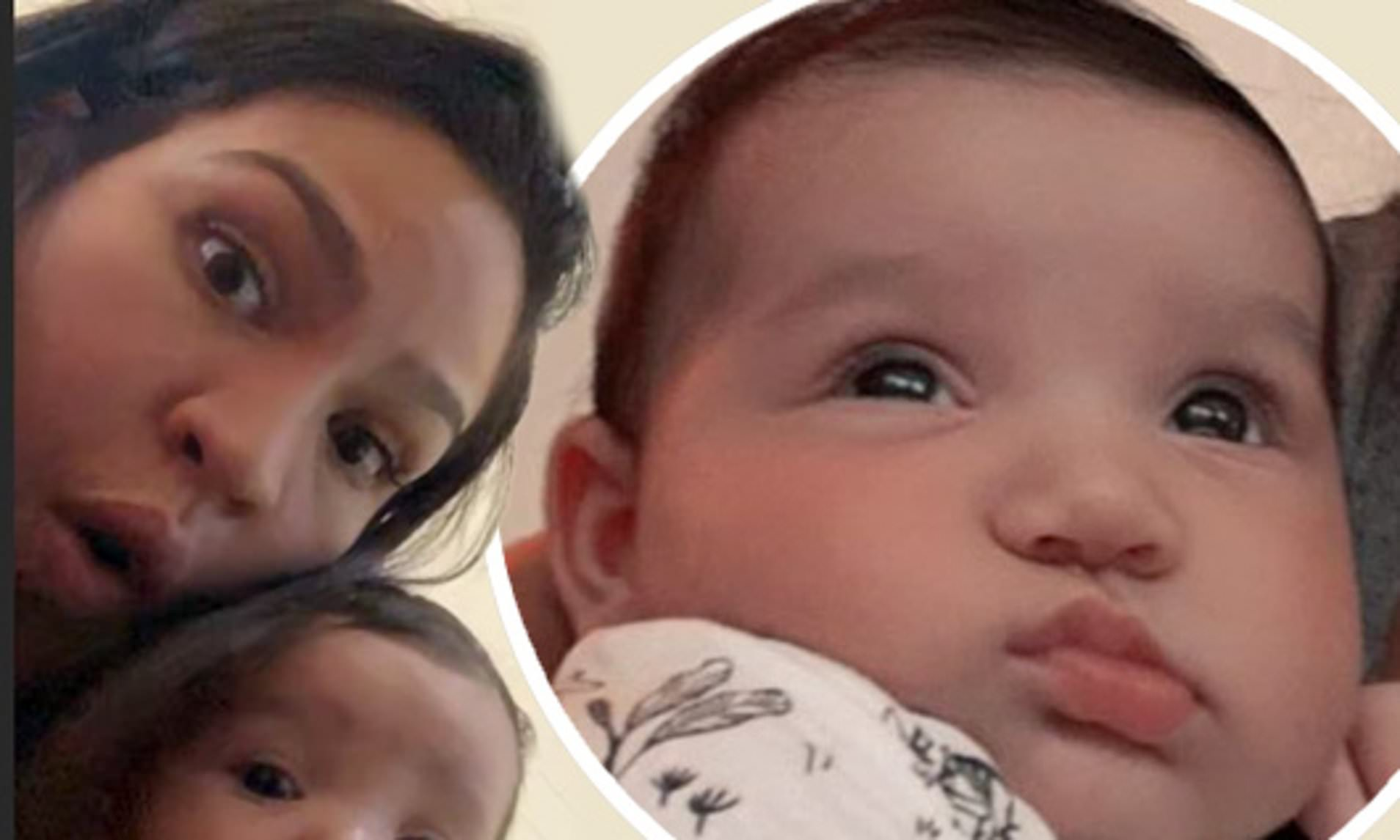 Cassie shares new photo of her daughter after two months of keeping her off social media