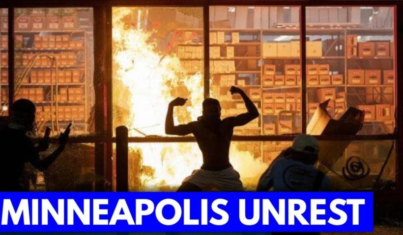 Deadly shooting near George Floyd protest as looting, arson grip Minneapolis