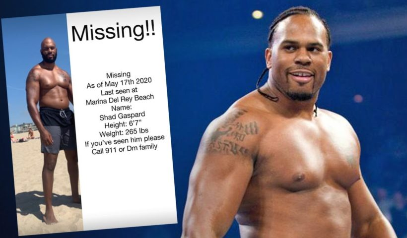 WWE pro Shad Gaspard subject of search effort after going missing while swimming in Los Angeles