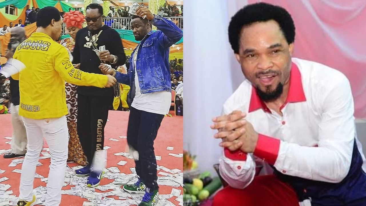Prophet Odumeje finally reveals the source of his power after he was threatened by a native doctor