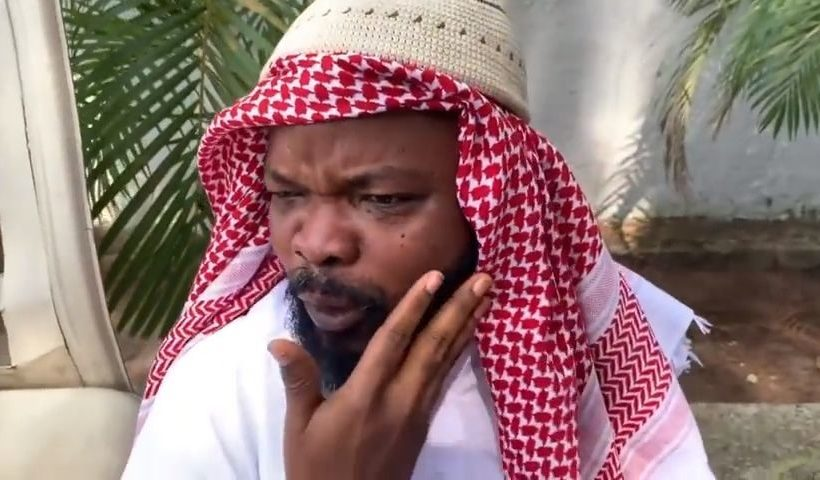 LATEST COMEDY VIDEO, ALHAJI MUSA IN DUBAI