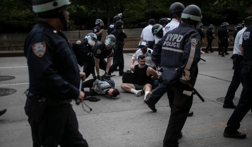 Donald Trump Says New York City Is 'Out of Control' As Protesters Defy Curfew