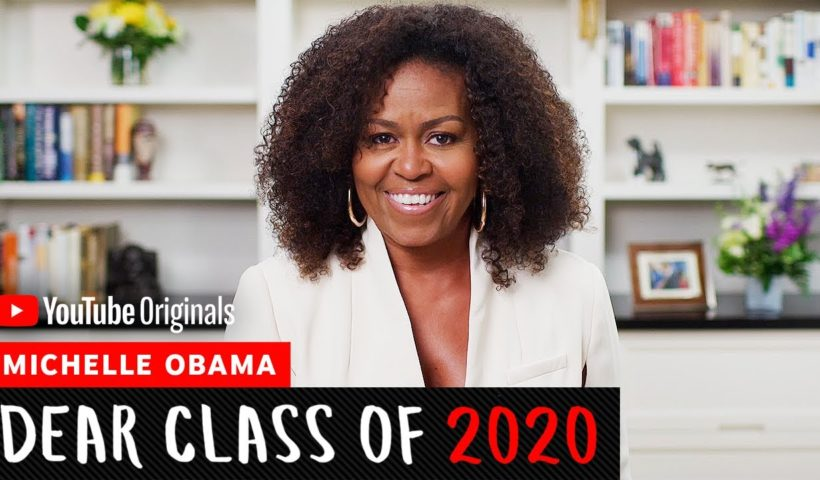 Michelle Obama Gets Emotional in Powerful 'Dear Class of 2020' Commencement Address