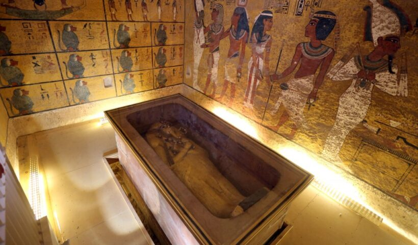After 3,300 Years, King Tut's Coffin Leaves His Tomb For The First Time Ever