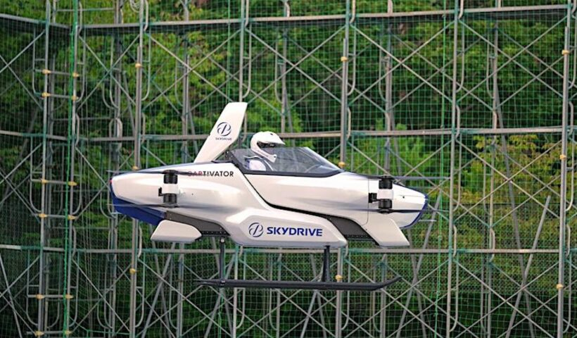 Flying Car Takes Off In Japan With First Manned Test Flight