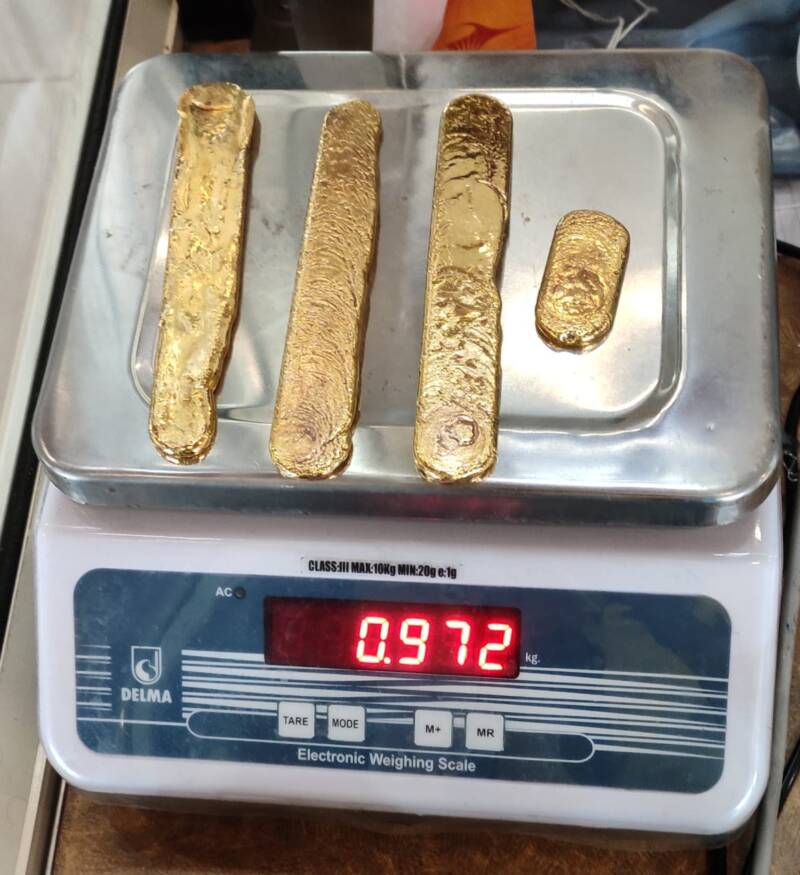 Airport Staff Notices Man 'Walking Strangely' — Then Finds Over 2 Pounds Of Gold In His Rectum