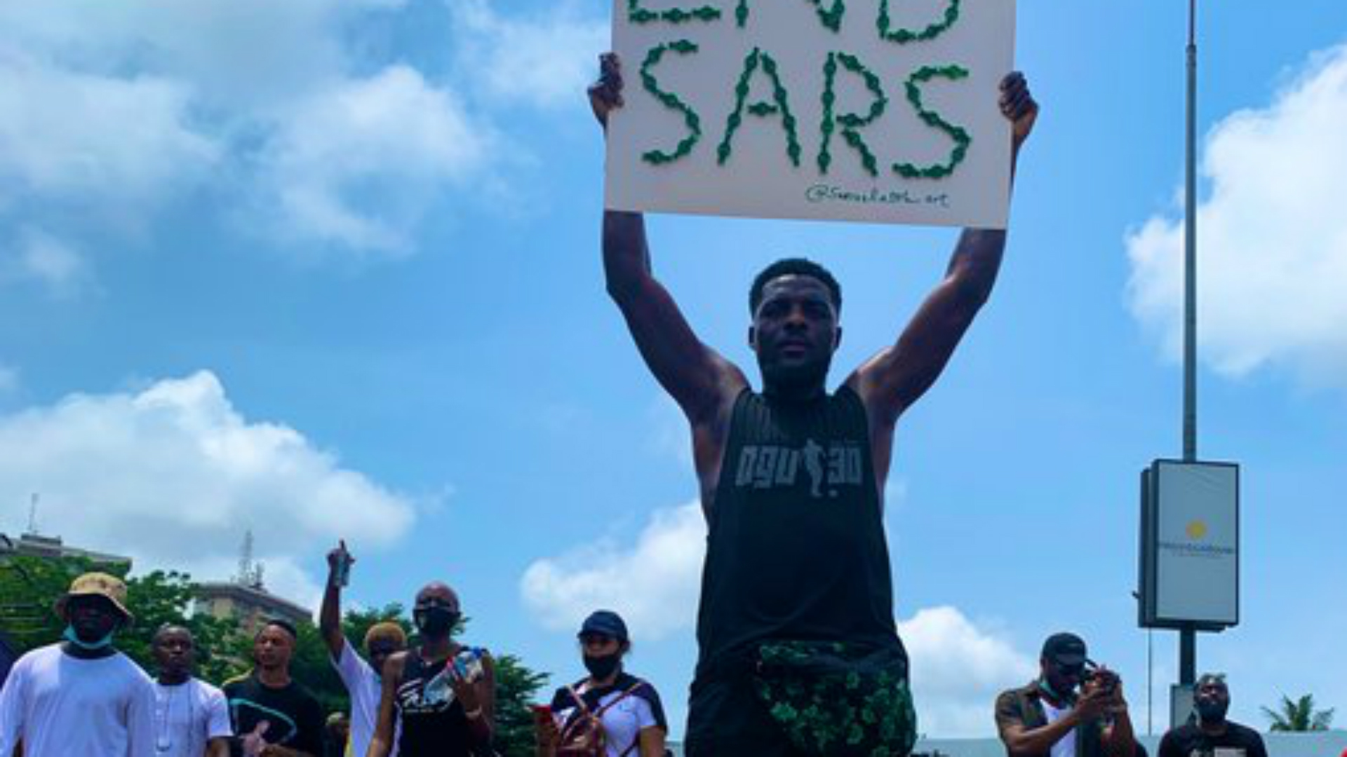 End SARS protest: Ogu calls on Nigeria players to boycott games to 'make a statement'