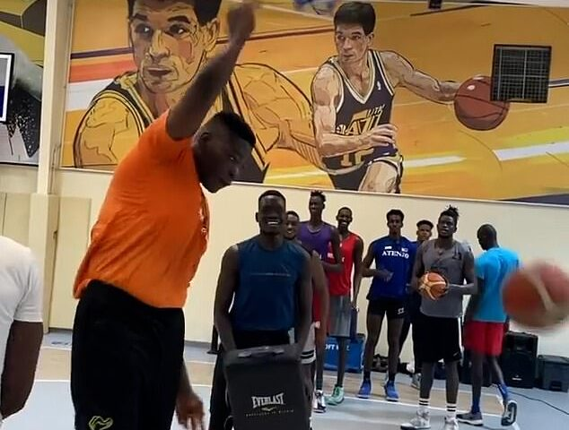 7ft 9in Nigerian basketball player became a viral sensation and would be the tallest player ever in the history of NBA.