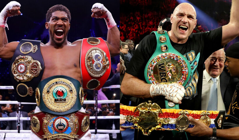 Anthony Joshua and Tyson Fury finally sign their £200m two-fight contracts.