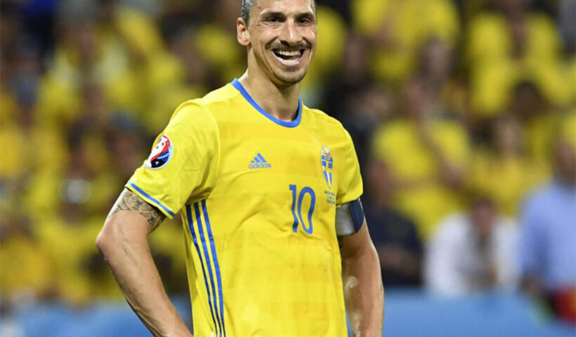 """""""The return of the god"""" - Zlatan Ibrahimovic returns to Sweden team five years after retiring from international football"""