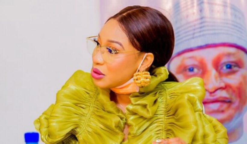 Movie Star Tonto Dikeh released a statement after The Nigeria Christian Pilgrims Commission (NCPC) refutes appointing her as Peace Ambassador.