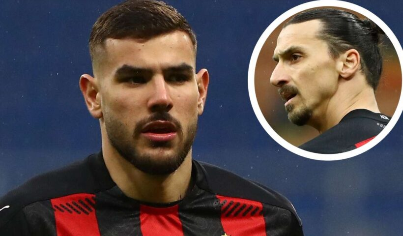 AC Milan player Theo Hernandez: Zlatan Ibrahimovic scolded me for being fa