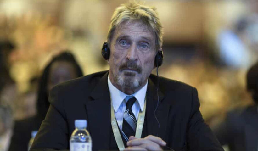 U.S. software mogul, John McAfee dies by hanging in a Spanish prison.
