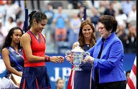 18-year-old Emma Raducanu wins US Open in the historic final, becomes Britain's first female singles Grand Slam champion in 44 years.