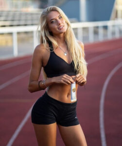 'World's Sexiest Athlete' Alica Schmidt announces she's 'taking a break from the sport after she was banned from Olympics
