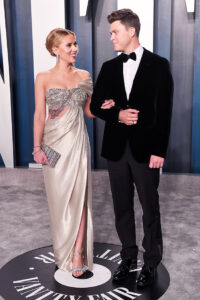 and his wife, Scarlett Johansson